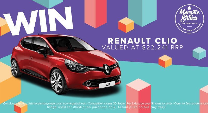 Margate-Shines-Competition-Win-a-Renault-Clio-22241-RRP-Moreton-Bay-Region-800x436